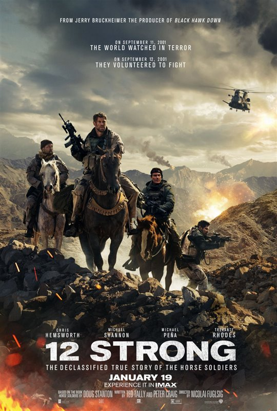 [12 Strong poster]