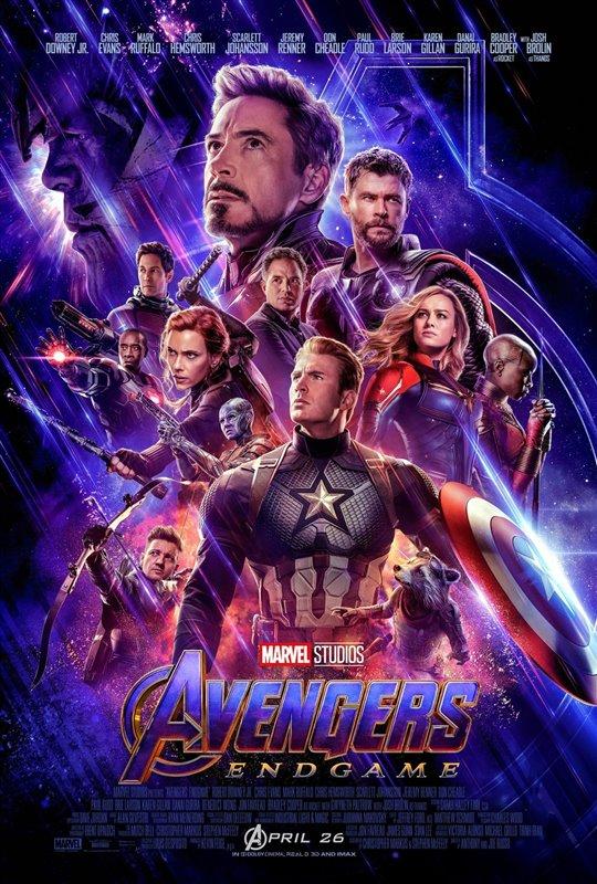 [Avengers: Endgame poster]