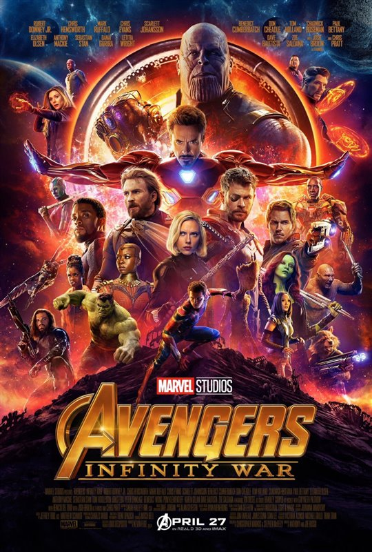[Avengers: Infinity War poster]