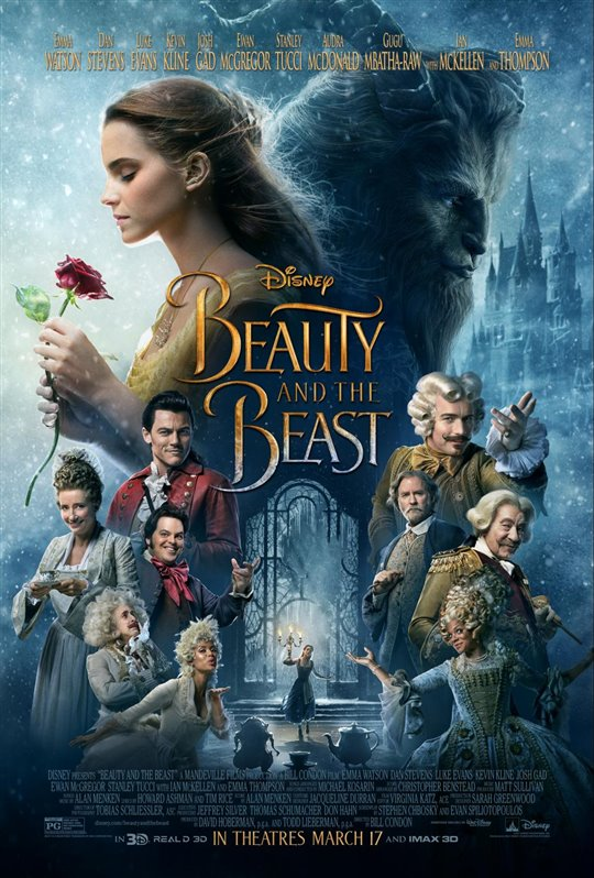 [Beauty and the Beast poster]