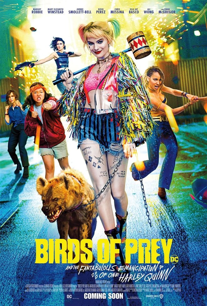 [Harley Quinn: Birds of Prey poster]