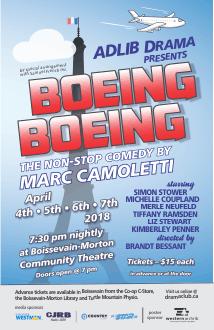 [Boeing Boeing poster]