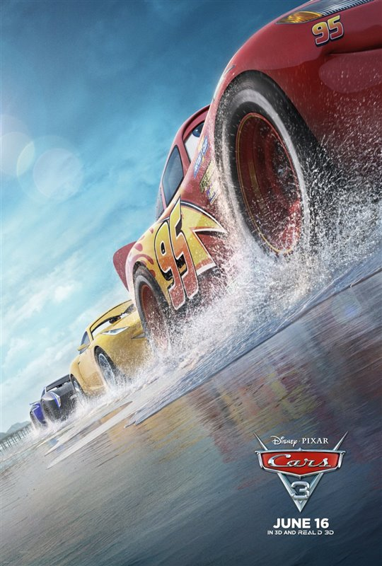 [Cars 3 poster]