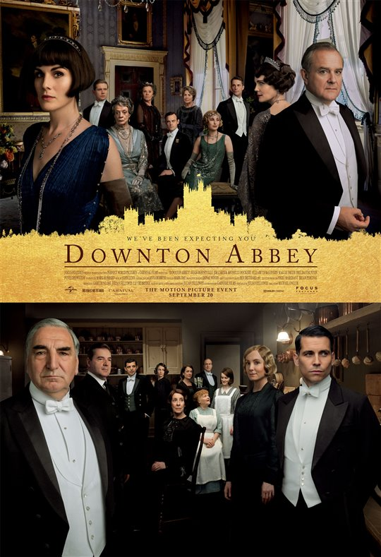 [Downton Abbey poster]