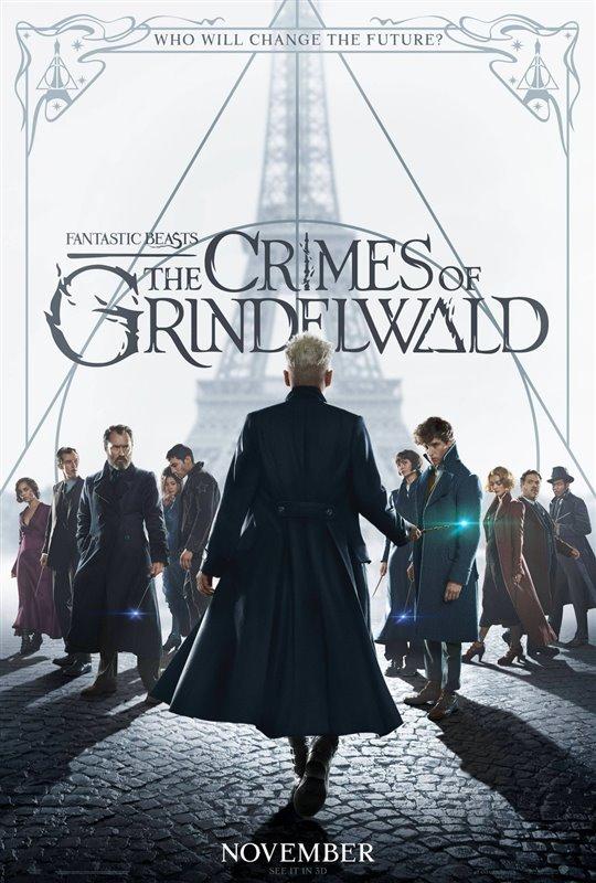 [Fantastic Beasts: The Crimes of Grindelwald poster]