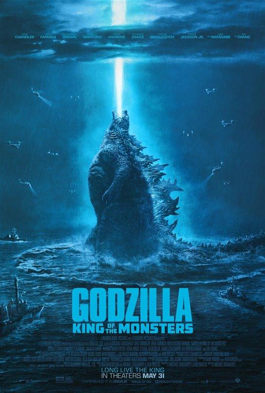 [Godzilla: King of Monsters poster]
