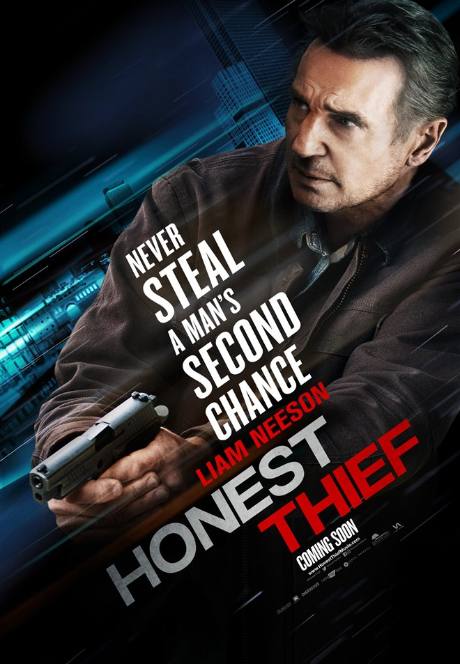 [Honest Thief poster]