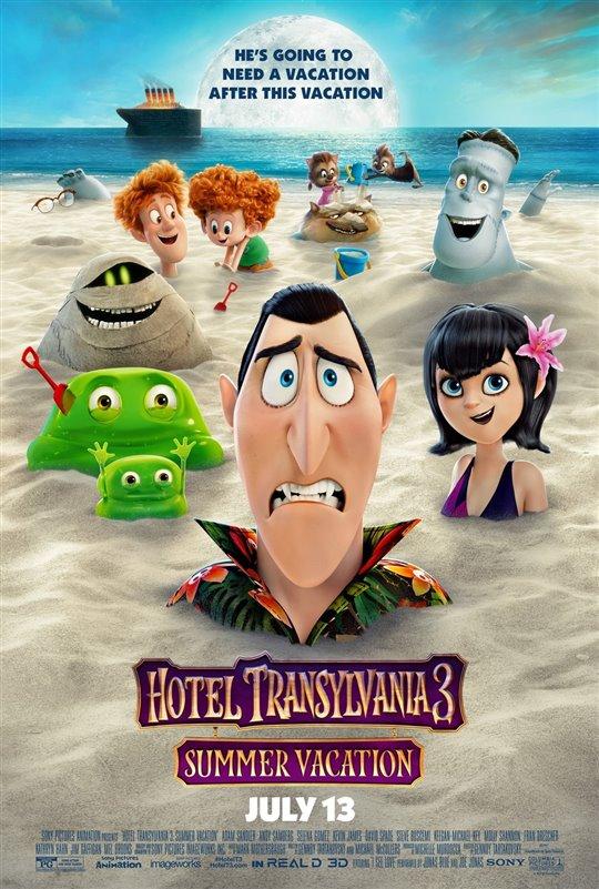 [ Hotel Transylvania 3: Summer Vacation  poster]