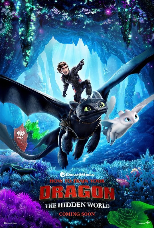 [How To Train Your Dragon: The Hidden World poster]