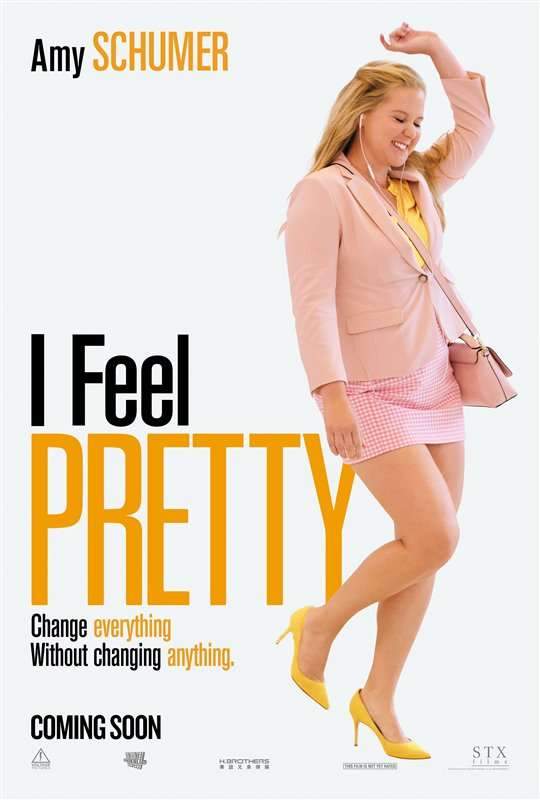 [I Feel Pretty poster]