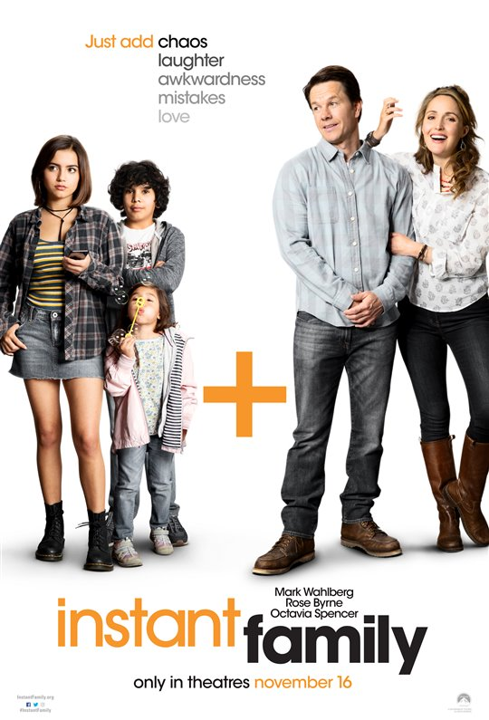 [Instant Family poster]