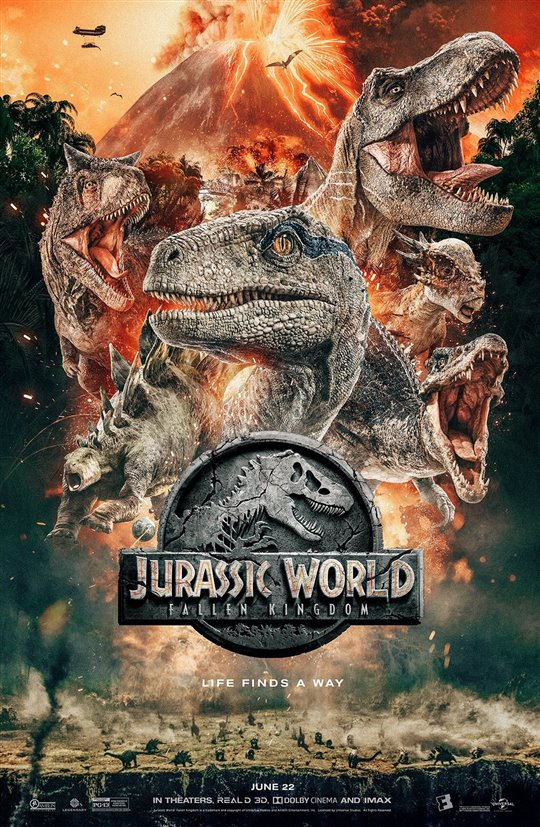 [Jurassic World poster]