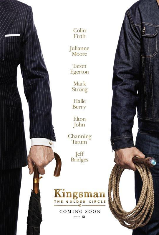 [Kingsman: The Golden Circle poster]