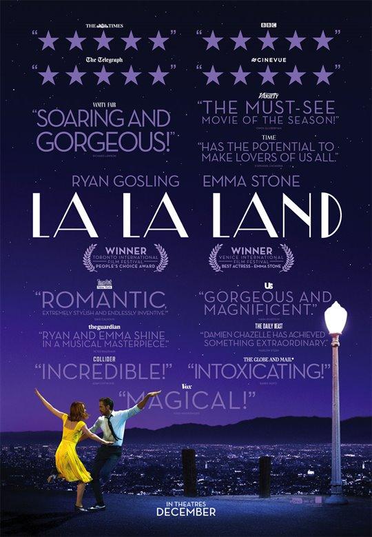 [La La Land poster]