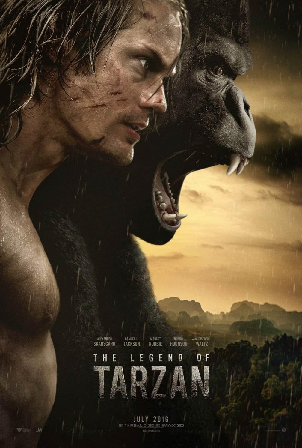 [The Legend of Tarzan poster]