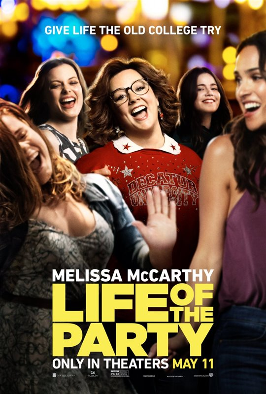 [Life of the Party poster]