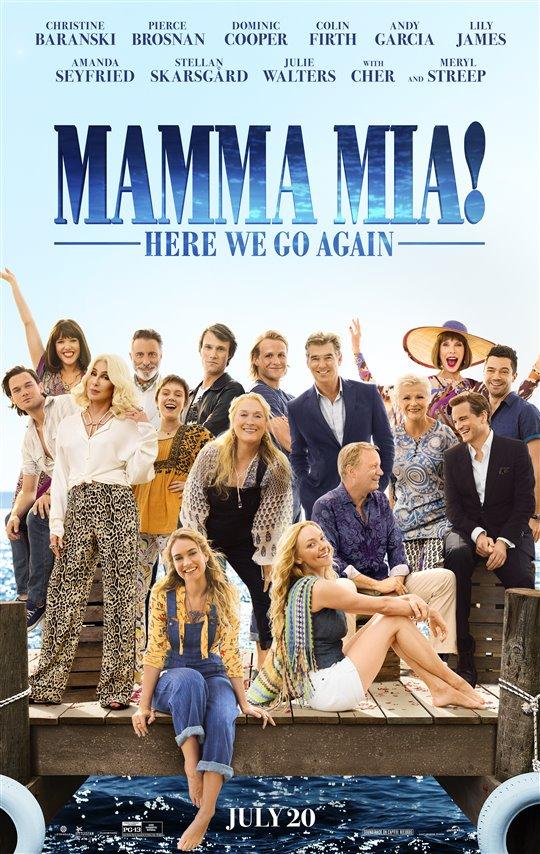 [Mamma Mia! Here We Go Again poster]