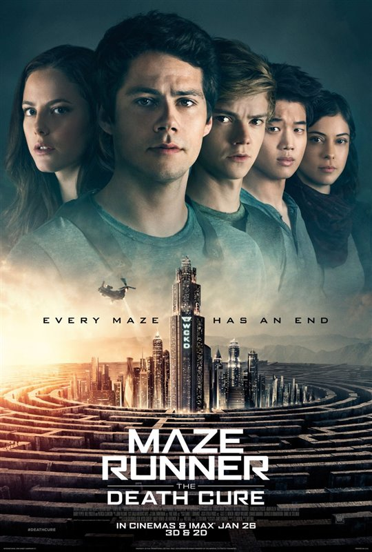 [Maze Runner: The Death Cure poster]