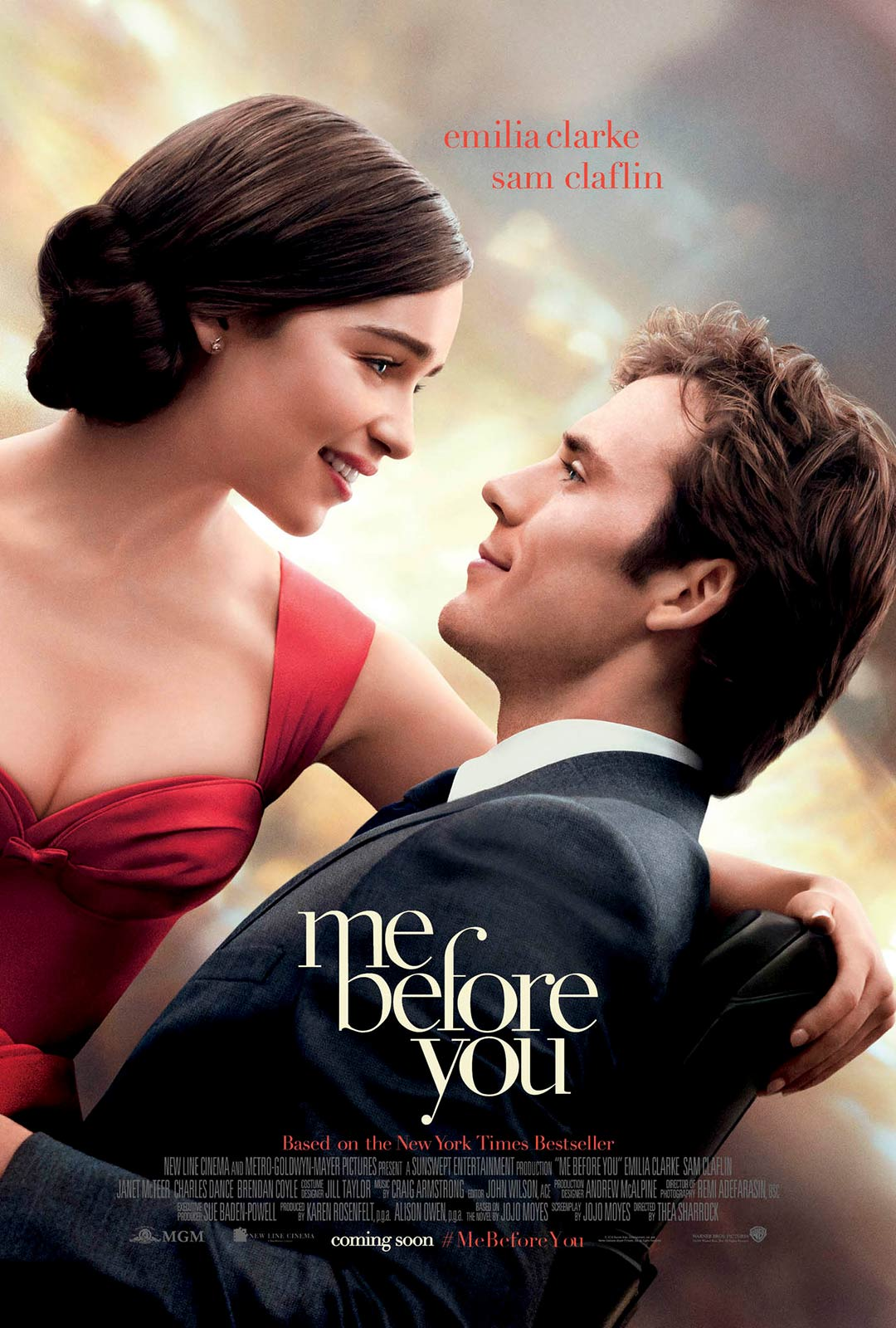 [Me Before You poster]