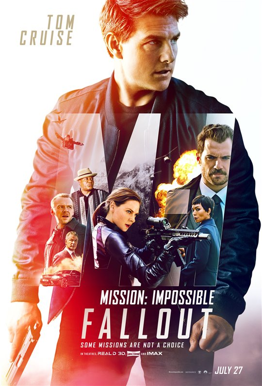 [Mission: Impossible - Fallout poster]