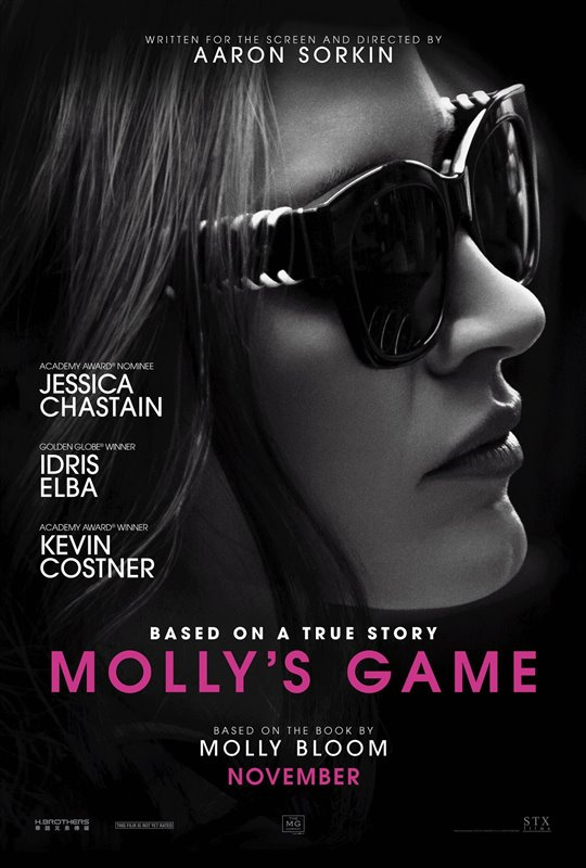 [Molly's Game poster]