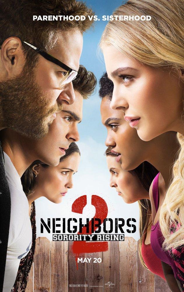 [Neighbors 2: Sorority Rising poster]