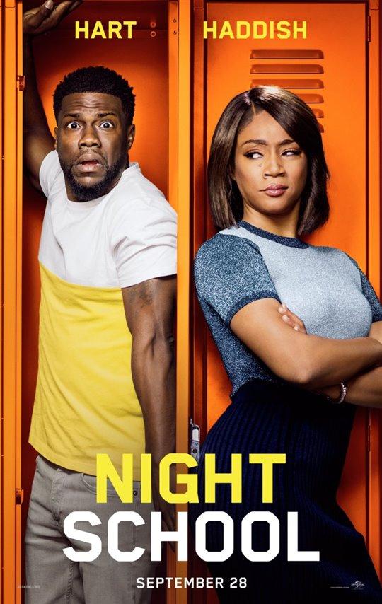 [Night School poster]