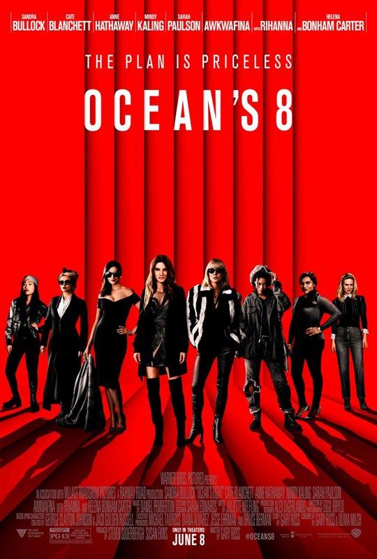 [Ocean's 8 poster]