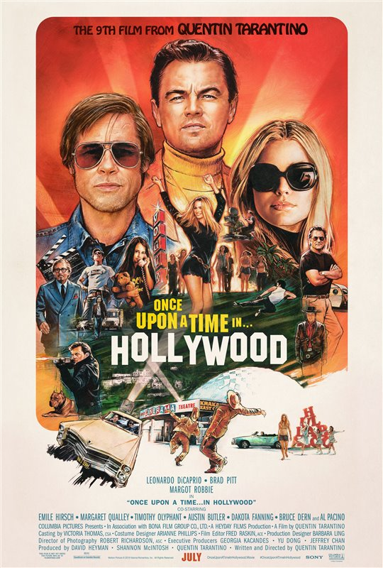 [Once Upon A Time in Hollywood poster]