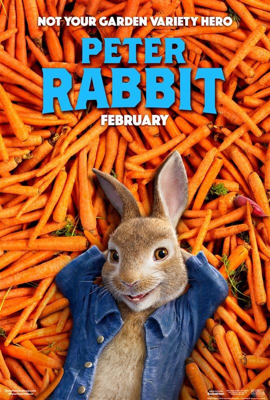 [Peter Rabbit poster]
