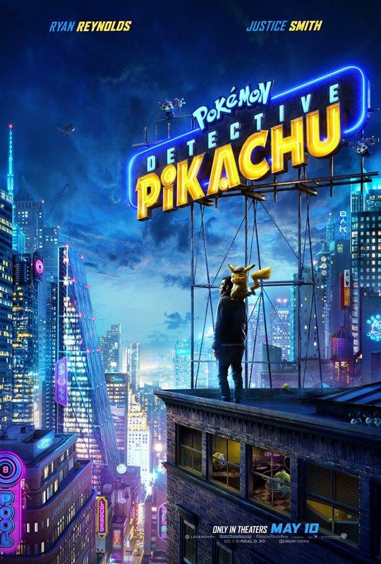 [Pokémon Detective Pikachu poster]