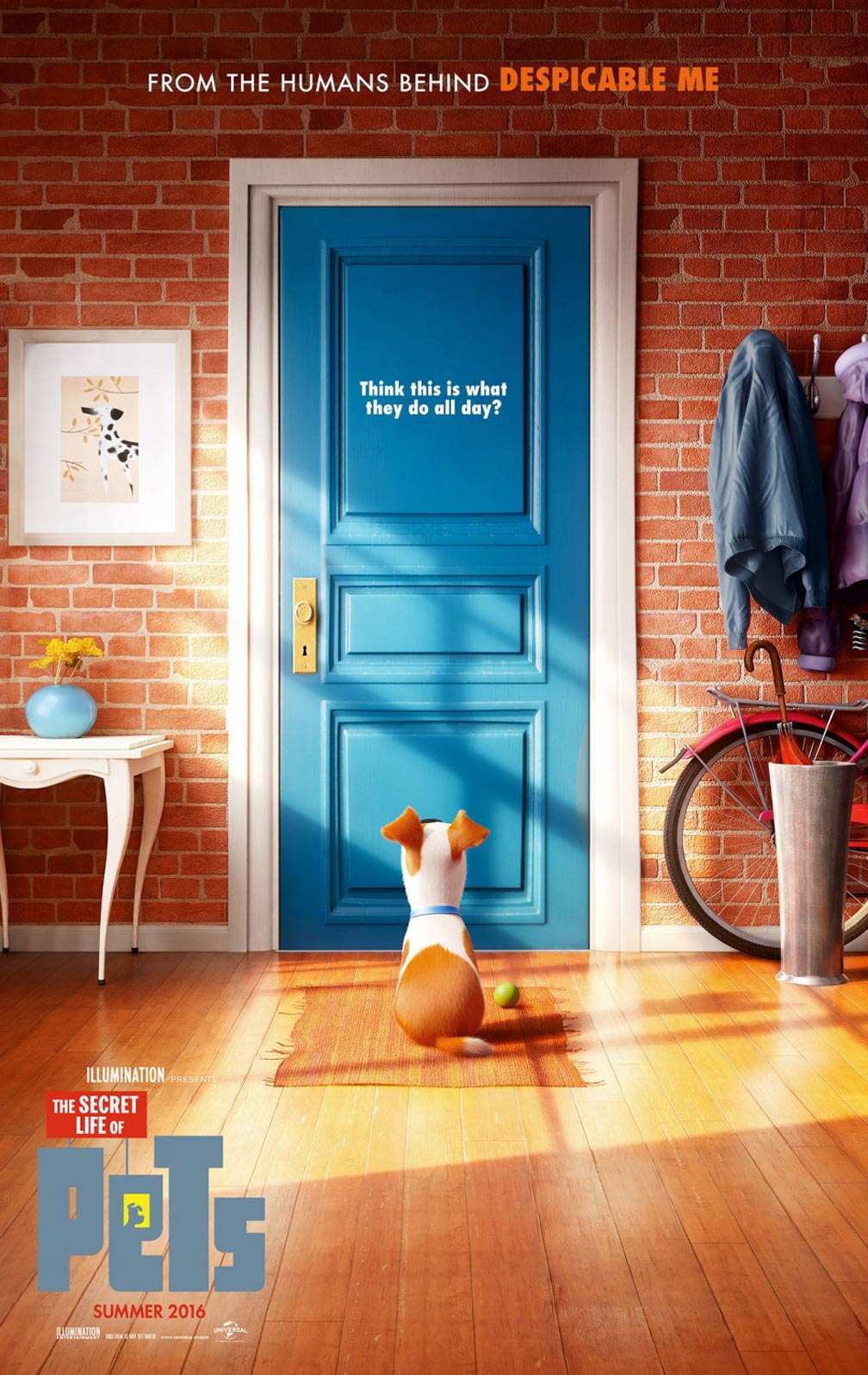[The Secret Life of Pets poster]