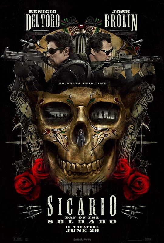 [Sicario: Day of Soldado poster]