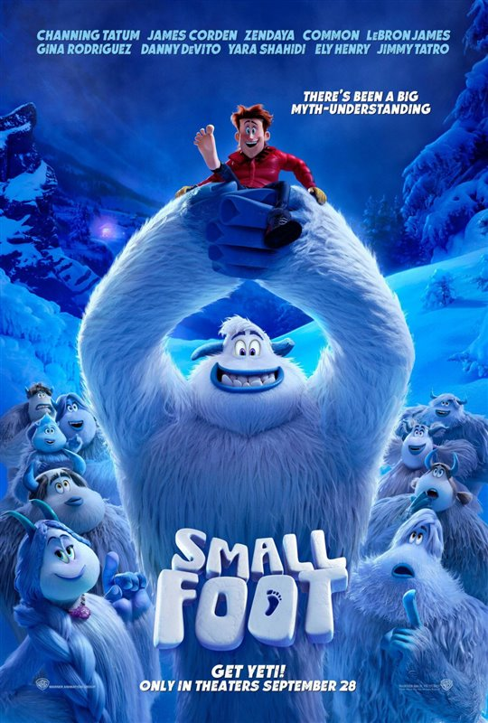 [Smallfoot poster]