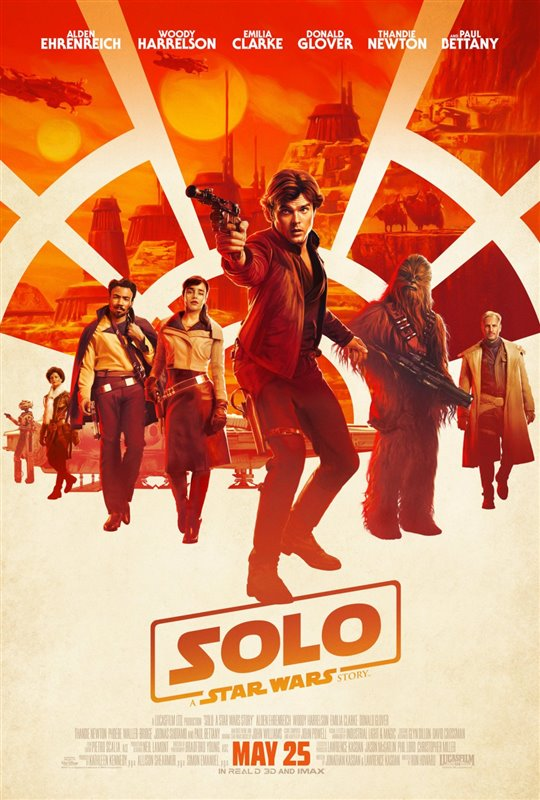 [Solo: A Star Wars Story poster]