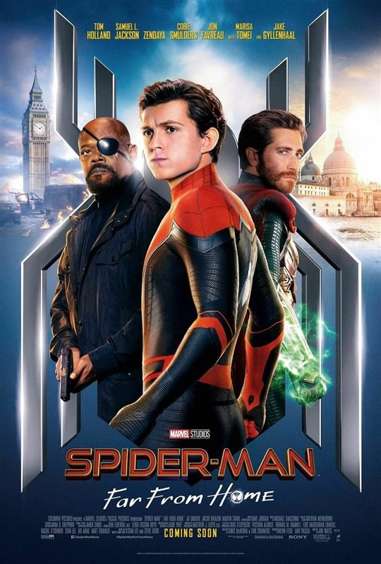 [Spider-man: Far From Home poster]