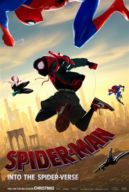 [Spider-Man: Into the Spider-Verse  poster]