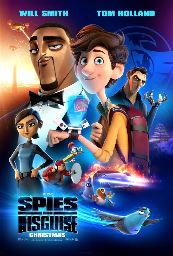 [Spies in Disguise poster]