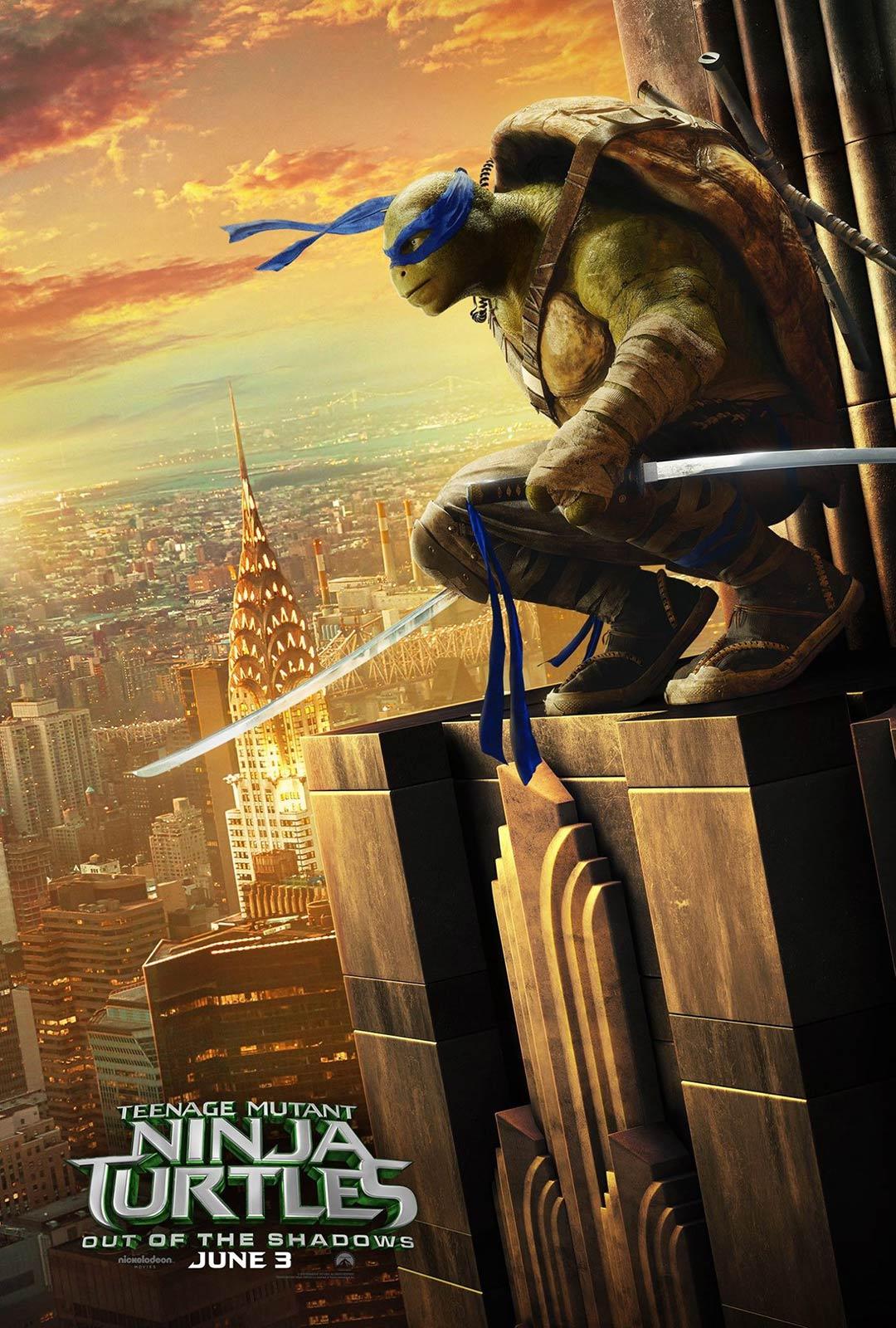 [Teenage Mutant Ninja Turtles: Out of the Shadows poster]