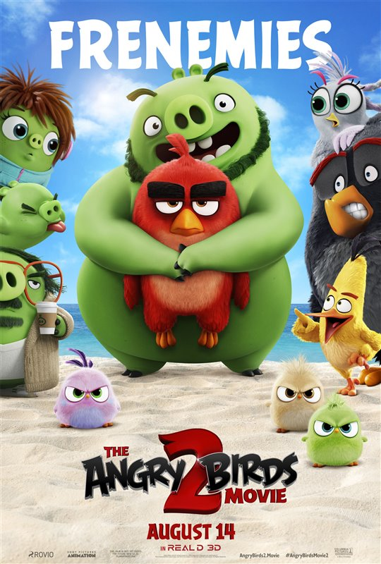 [The Angry Birds Movie 2 poster]