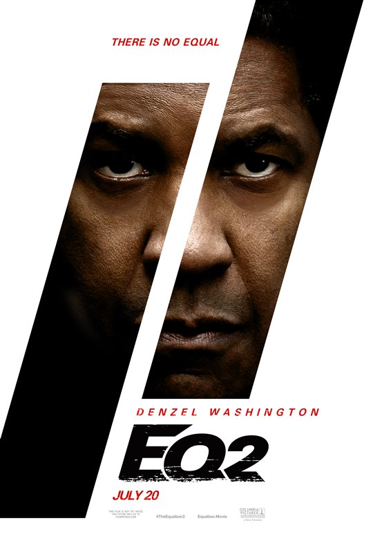 [The Equalizer 2 poster]