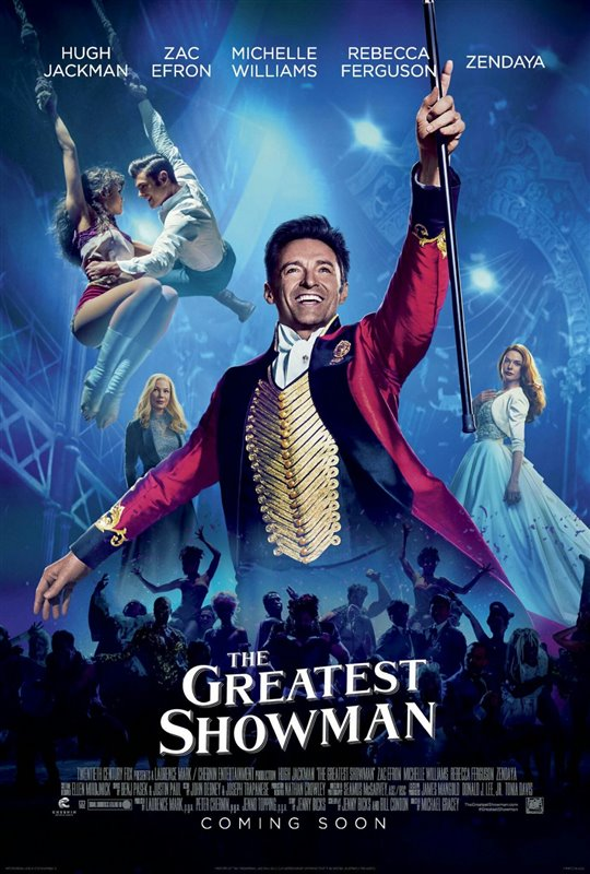 [The Greatest Showman poster]