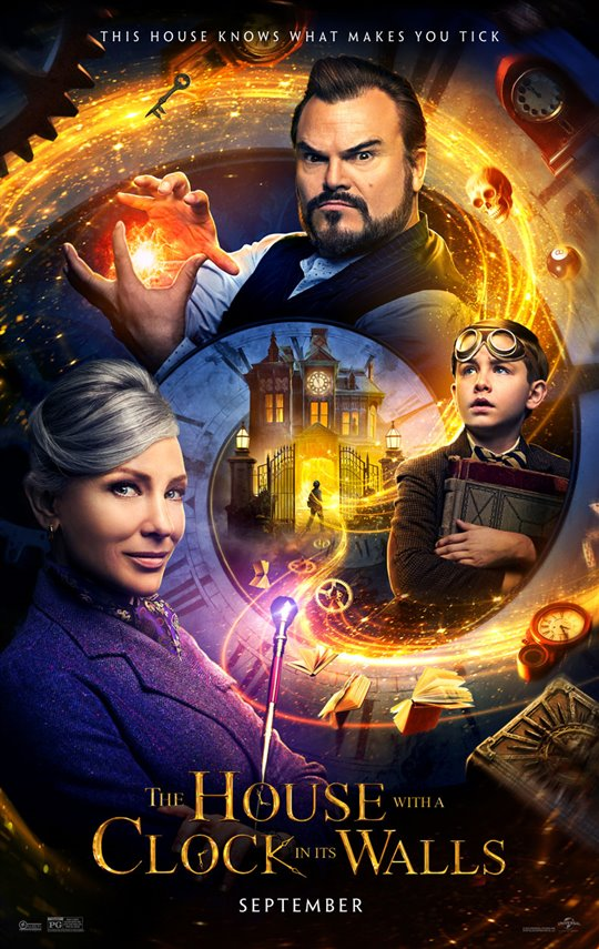 [The House with a Clock in its Walls poster]