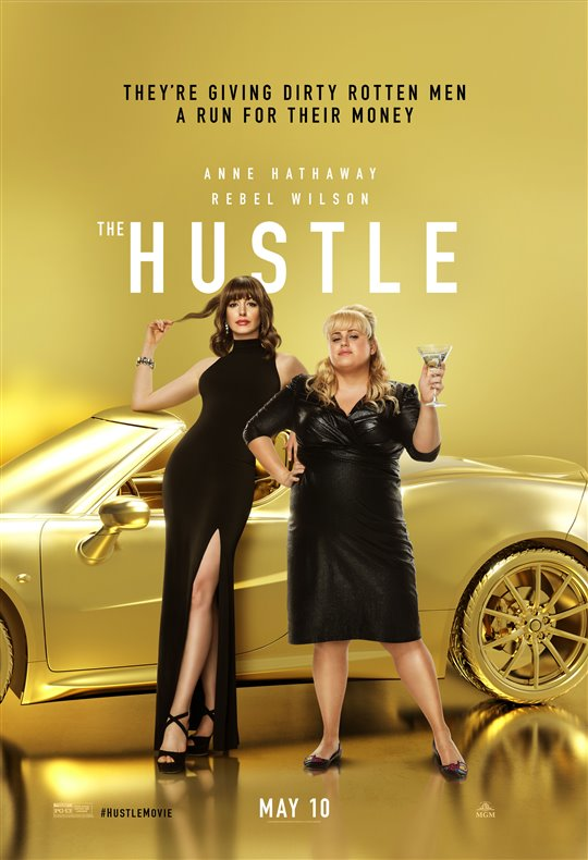 [The Hustle poster]