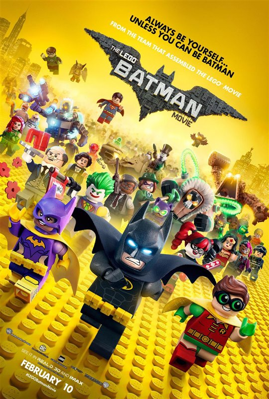 [The LEGO Batman Movie poster]