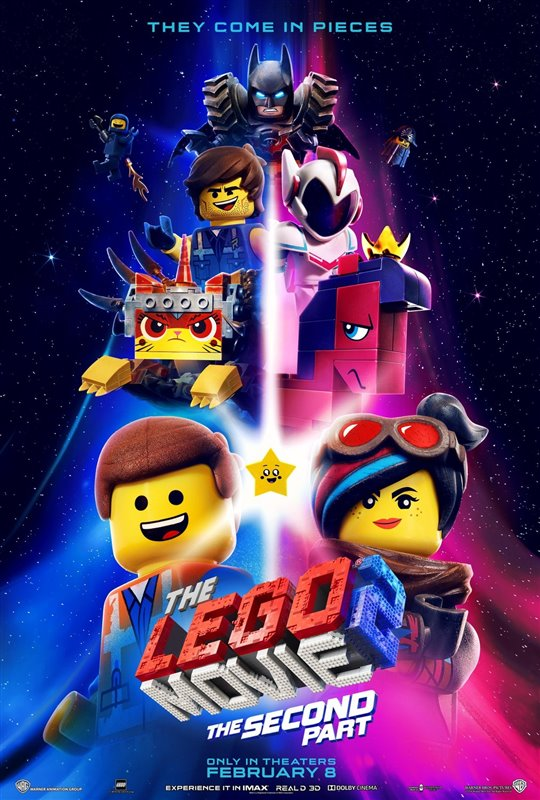 [The LEGO Movie 2: The Second Part poster]