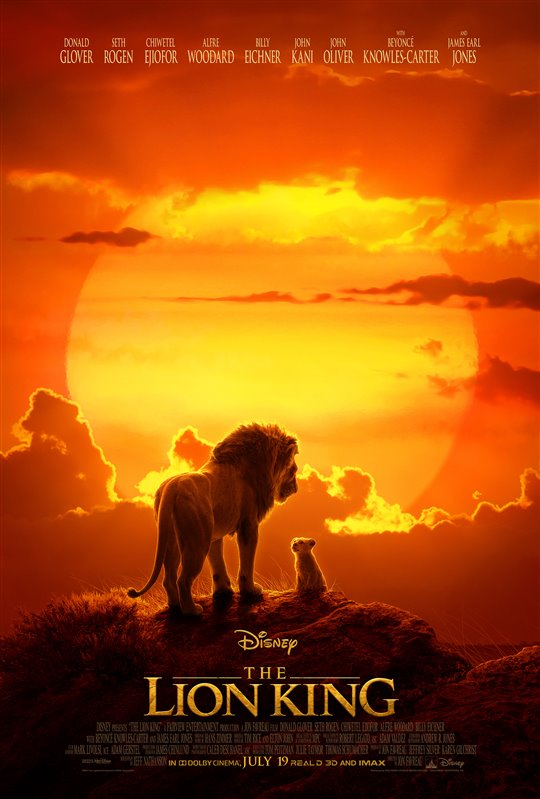 [The Lion King poster]