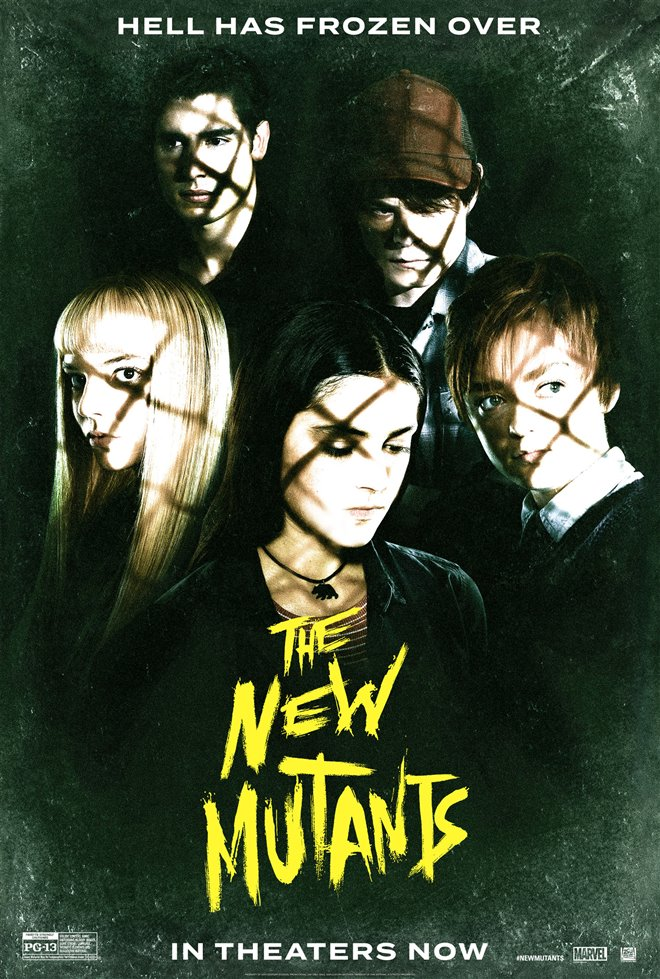 [The New Mutants poster]