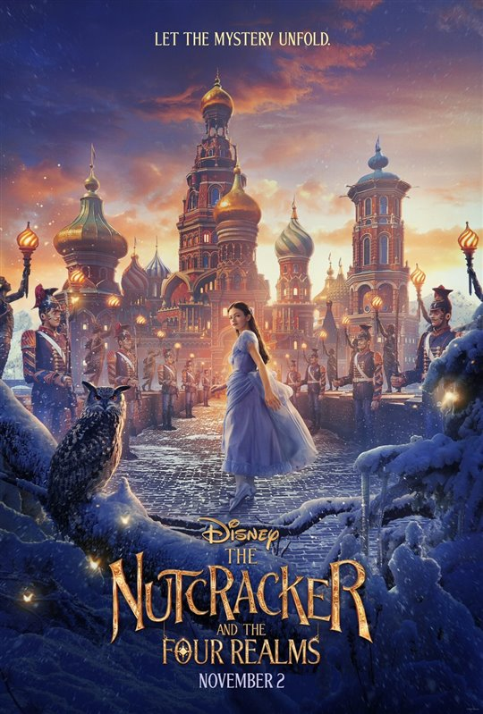 [The Nutcracker and the Four Realms poster]