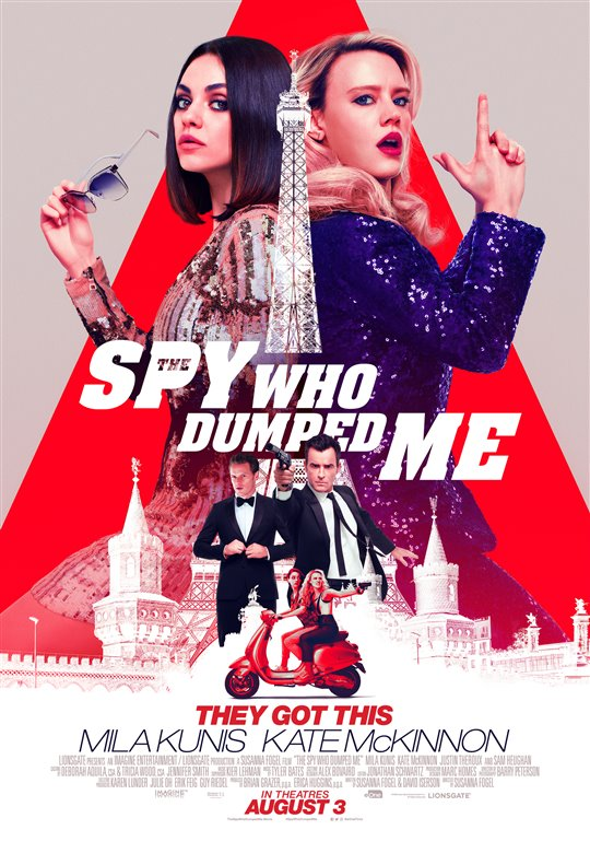 [The Spy Who Dumped Me poster]